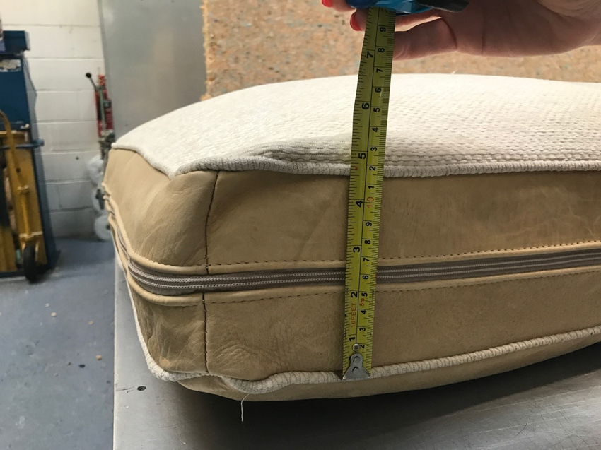 how to measure foam thickness
