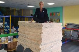 Foam for soft play