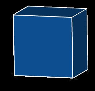Square Rectangle Foam Cube
