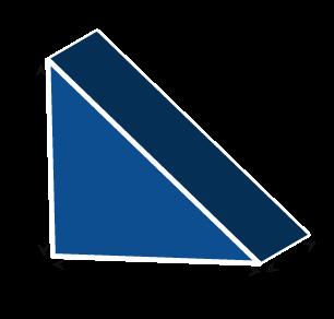 Triangle Wedge Foam